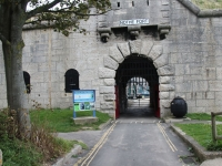 Nothe fort - entrance