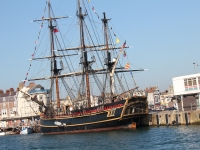 The bounty in weymouth harbour