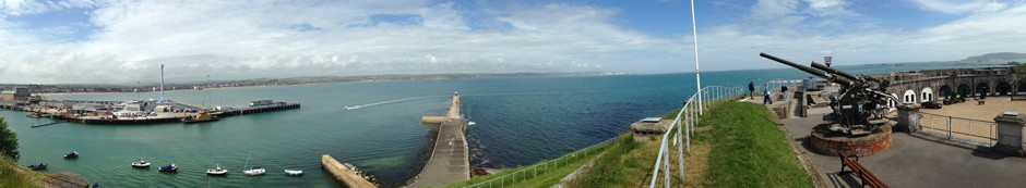 View from The Nothe Fort